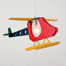 childrens ceiling lighting. Childrens Multi Coloured Helicopter Ceiling Pendant Light Lamp Shade Lighting