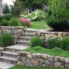 rock wall sustainable walls beautiful stone wall landscaping ideas