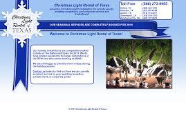 Christmas Light Rental Houston Christmas Light Rental Of Texas Competitors Revenue And