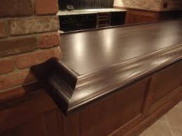 Wood Bar Top Premium Wide Plank Wood Bar Tops Brooks Custom