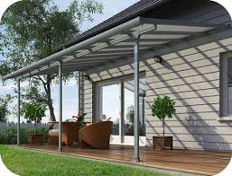 patio covers kits. Beautiful Covers Palram 10x24 Feria Patio Cover Kit  Gray In Covers Kits