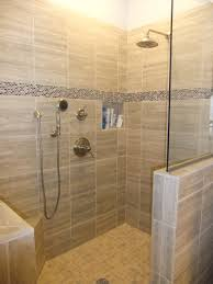 Perfect Walk In Shower Ideas For Bathroom Design: Tile Wall Design Ideas  With Glass Shower
