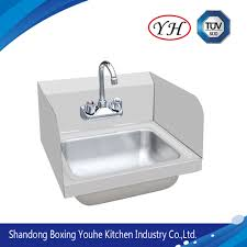 china wall hang stainless steel hand wall sink china kitchenware sliding table