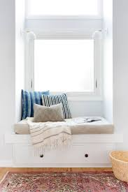 small window seat and nook