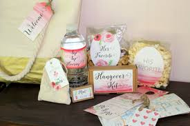 welcome bag for your wedding guests
