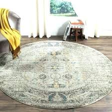 7 round rug grey multi 6 foot x beige black and runner feet another is by