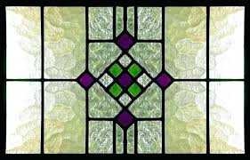 stained glass panels large window old reclaimed doors kits panel patterns free