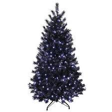 Buy 4ft Fibre Optic Christmas Tree  Black At Argoscouk  Your Black Fiber Optic Christmas Tree