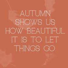 Fall Quotes Delectable Autumn Shows Us How Beautiful It Is To Let Things Go Quotes You