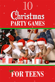 Top 10 #Christmas Party Games For Teens