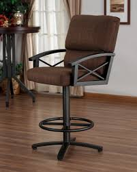 bar stools with arms and back. Bar Stools With Arms Swivel And Back L