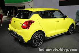 2018 suzuki ignis sport. modren 2018 2018 suzuki swift sport at iaa 2017 indian autos blog  and ignis d