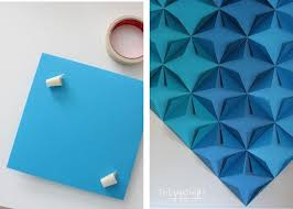 diy geometric paper awesome projects paper wall art home decor ideas regarding diy 3d paper wall art on 3d paper wall art diy with wall art diy 3d paper wall art 20 of 20 photos