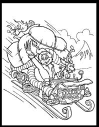 Printable Christmas Coloring Pages Grinch Creativeinfotechinfo
