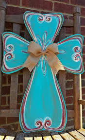 Decorative Door Hangers 17 Best Ideas About Painted Wooden Crosses On Pinterest Wooden