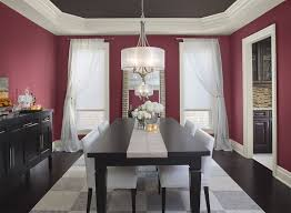 inspiring modern dining room colors with best 10 red dining rooms ideas on long walls