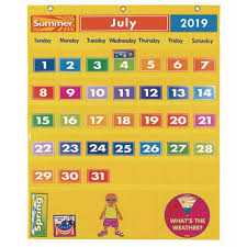 Calendar And Weather Pocket Chart Excellerations Classroom Calendar Weather Pocket Chart