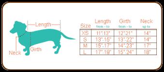 Dachshund Size Chart Classic Khaki Dachshund Trenchcoat