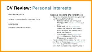 Hobby And Interest In Resume Hobbies For A Resume City Co In List Of And Interests Mysetlist Co