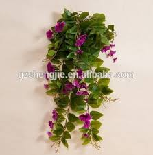 Artificial Fake Flower Hanging Plants For Home Garden Wall Decorative Plants For Home