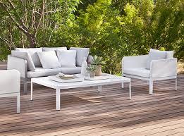 White outdoor furniture Distressed White Patio Furniture Houseandhomecom 10morganmichenerwhitepatiofurnitureconnexion