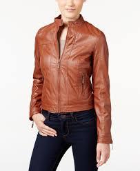 jou jou juniors faux leather er jacket