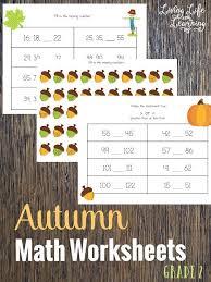 Autumn Math Worksheets for 2nd Grade | Math worksheets, Worksheets ...
