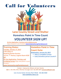 Call for Volunteers