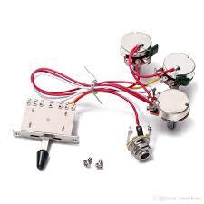 2018 electric guitar wiring harness 5 way toggle switch 2 tone for Guitar Wiring Harness eBay electric guitar wiring harness 5 way toggle switch 2 tone for electric guitar