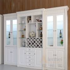 Living Room Cabinets With Glass Doors Living Room Cabinet Furniture Bookcase With Glass Doors Wine