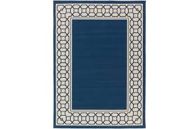 navy outdoor rug. 63X87 Outdoor Rug-Fretwork Border Navy (Qty: 1) Has Been Successfully Added To Your Cart. Rug