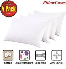 Dust Mite Pillow Covers Fascinating Amazon Pillow Covers Anti Allergy Bed Bug Dust Mite Proof 32