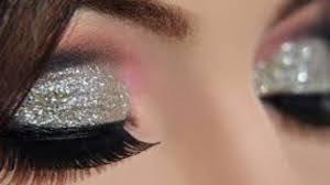 makeup cut crease silver glitter elegant makeup tutorial makeup eye