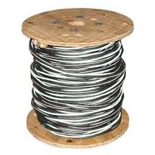 Service Entrance Cable Size Chart 500 Ft 4 0 4 0 2 0 Black Stranded Al Sweetbriar Urd Cable