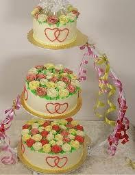 Pesta Cake Besi Berdiri Rak Kue Untuk Pernikahan 3 Tingkat Wedding