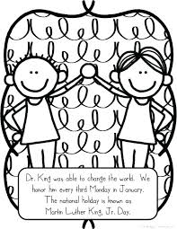 Martin Luther King Jr Coloring Pages Free Martin King Coloring Page ...