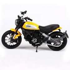 maisto 1 18 ducati scrambler motorcycle bike diecast model toy new
