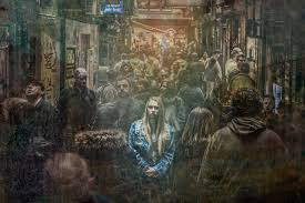 File:Loneliness in a Crowd.jpg - Wikimedia Commons
