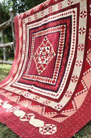 Best 25+ Medallion quilt ideas on Pinterest | Quilt boarders ... & A Prairie Gathering Block of the Month - Fat Quarter Shop The quilt shop in  Paola, KS is also doing this in 2015 Adamdwight.com