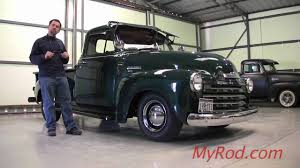 51 resto-Mod Chevy Truck (video 1) - YouTube