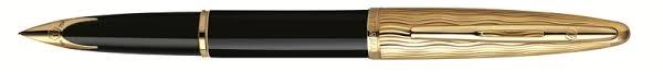 <b>Перьевая ручка</b> Waterman Carene <b>Essential</b>, Black & Gold GT ...