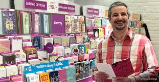 who has a job writing greeting cards anyway american greetings  greg vovos american greetings card writer