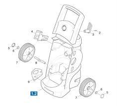 karcher k m wb gb pressure washer spares parts individual parts ref 4