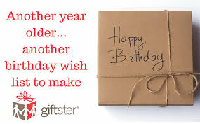 3 Quick Birthday Wish List Tips Giftster Aimees Blog