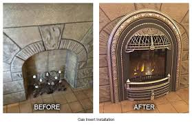 gas insert installation before after louisville ky