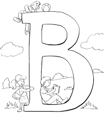 Coloring Pages: letter b coloring pages. Letter E Coloring Pages ...