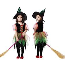 Women Girls Witch Costume Lovely Vampire Clothing Cosplay Carnival Halloween  Fancy Dress Supplies Purim Christmas