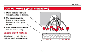 honeywell programmable thermostat wiring diagram how wire a honeywell t2 non programmable thermostat wiring diagram honeywell programmable thermostat wiring diagram how wire a honeywell room thermostat honeywell thermostat wiring