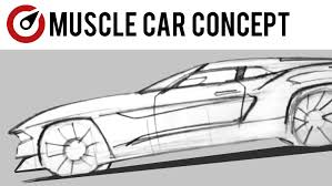 muscle cars drawings.  Cars Throughout Muscle Cars Drawings