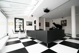 White office decors Simple Black And White Office Toya Design Chernomorie Gallery Of Black And White Office Toya Design